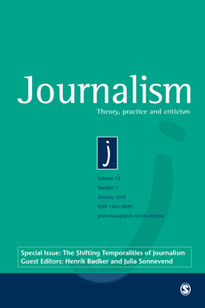 Journalism cover